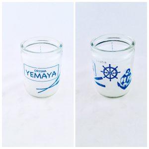 Orisha 50 Hour Candle: Yemaya