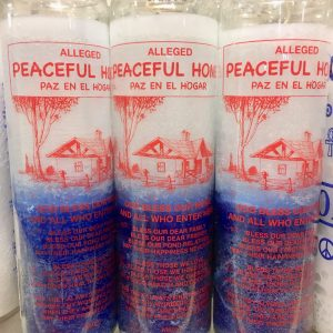 Peaceful Home: 7 Day Candle