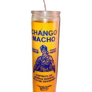 Chango Macho 7 Day Glass Candle