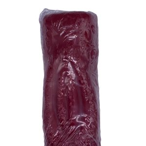 """Unscented Red Vagina Candle, 6"""""""