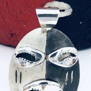 Sterling Silver Elegua Pendant