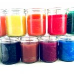 50 Hour Glass Candle: Solid Color