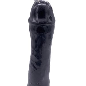 """Unscented Black Penis Candle, 7"""""""