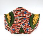 African Print protection mask