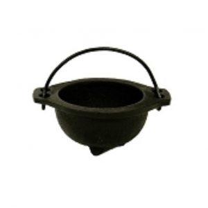 """3.5"""" Iron Smudging Pot"""