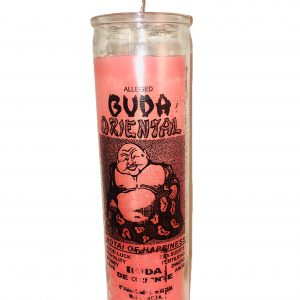 Lucky Buda 7 Day Glass Candle