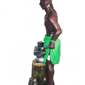 Orisha Statue: Ogun
