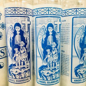 Guardian Angel: 7 Day Glass Candle