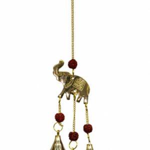 "12"" Inch Brass Elephant Chime"