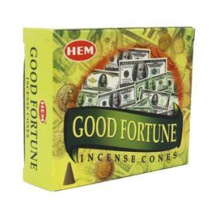 Good Fortune Incense Cones